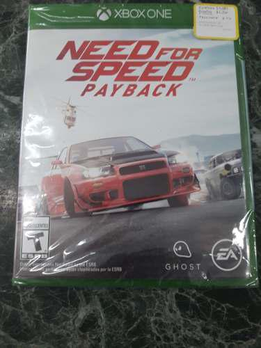 Juego De Xbox Need For Speed Payback 35216