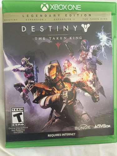 Juego destiny legendary edition para xbox one