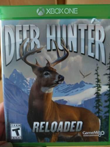 Juego xbox one deer hunter reloaded usado, envio gratis.