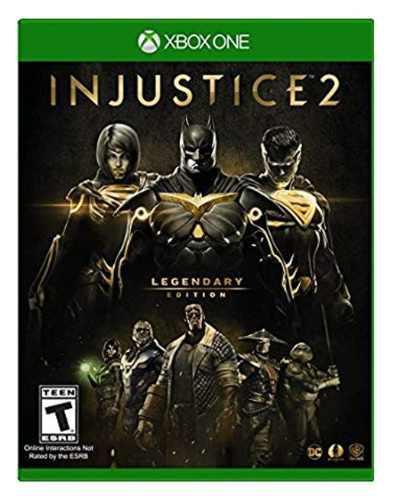 Juego xbox one injustice 2 legendary edition