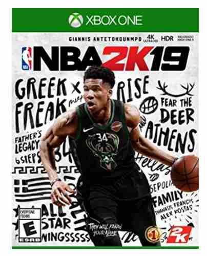 Juego Xbox One Nba 2k19 Standard Edition