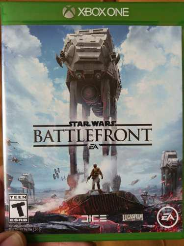 Juego xbox one star wars battlefront usado, envio gratis.