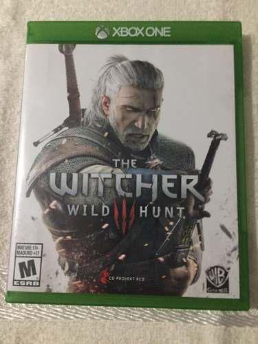 Juego Xbox One The Witcher Original Perfecto Estado