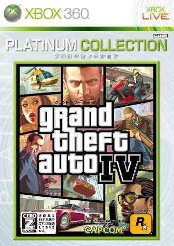 Juegos,grand theft auto iv (colección platino) importaci..