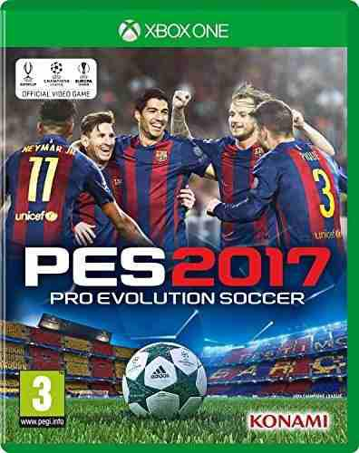 Juegos,pro evolution soccer 2017 (xbox one)