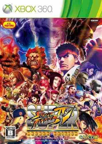 Juegos,super street fighter iv arcade edición importació..