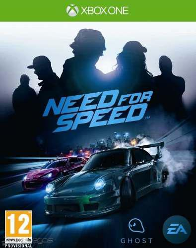Need for speed 2015 juego xbox one (envío gratis)