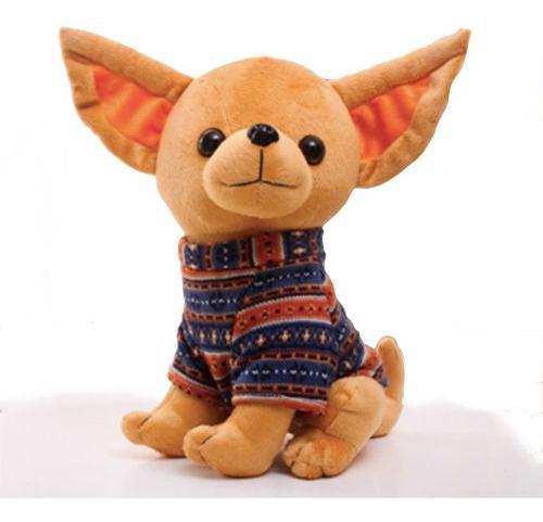 Peluche chihuahua juguete felpa adorable perrito