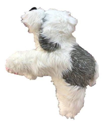 Perro pastor ingles de peluche