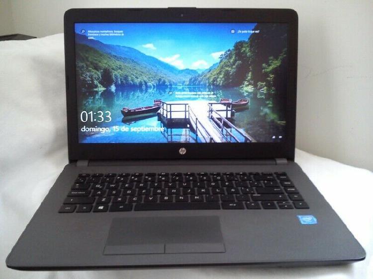 Seminueva laptop hp,4 ram,disco sd27gb, 500gb.