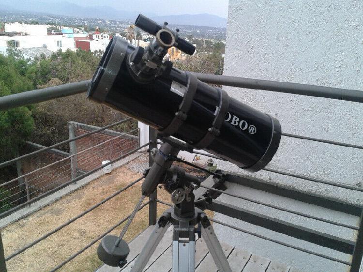 Telescopio ecuatorial newtoniano