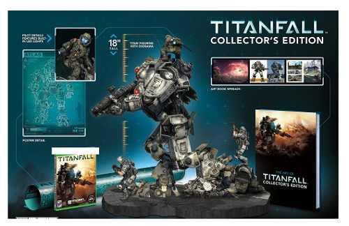 Titanfall collectors edition sin juego