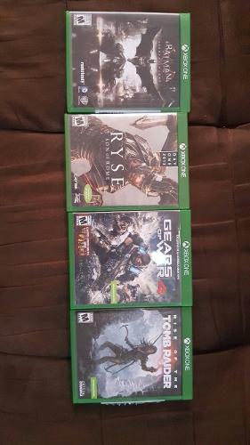 Vendo paquete de juegos xbox one