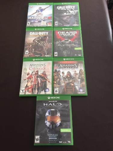 Video juegos xbox one, 7 diferentes titulos