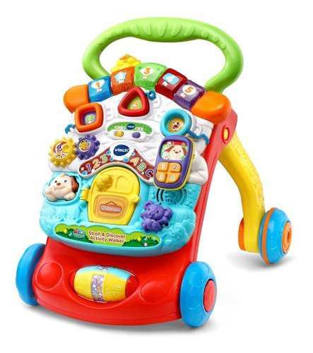 Vtech caminadora bebe 2 en 1 musica actividades
