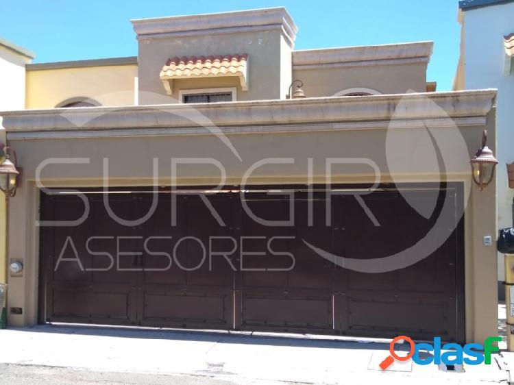 Bonita casa en venta en real del sol, amplios espacios, cd. obregón (ciudad obregón)