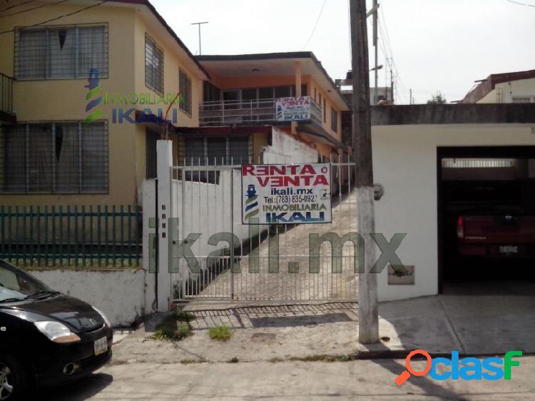 Casa renta 4 recamaras céntrica tuxpan veracruz, tuxpan de rodriguez cano centro