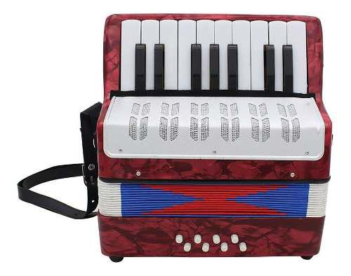 17 teclas 8 bajo acordeón musical juguete para instrumentos