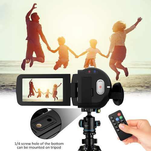 Andoer 1080p hd wifi cámara vídeo digital videocámara dv