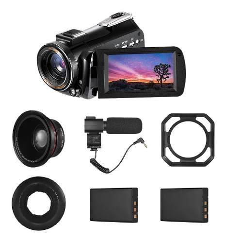 Andoer ac3 4k uhd 24mp cámara de vídeo digital
