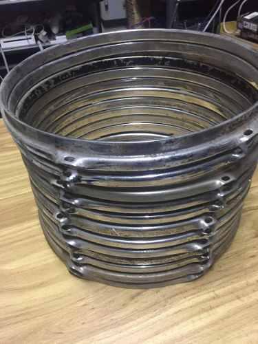 Aro de 12 pulgadas 6 hoyos para tom batería tambor