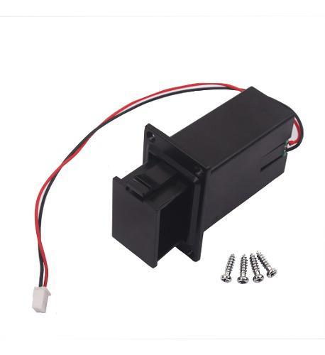 Caja de batería de 9v para bajo de guitarra eléctrica de