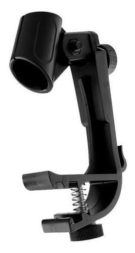 Clamp o soporte de micrófono para batería + envío gratis
