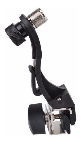 Clamp soporte para micrófono bateria percusiones
