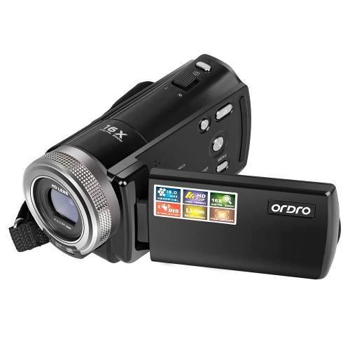 Cámara videocámara, ordro portátil 720p vídeo cámara