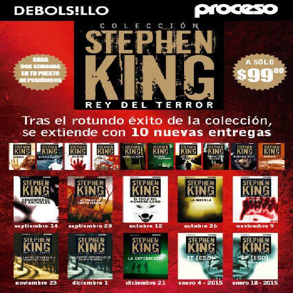 Coleccion de 20 libros de stephen king