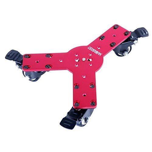 Estabilizador de tres ruedas para camaras y videocamaras