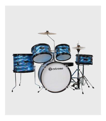 Extreme bateria junior azul 3d