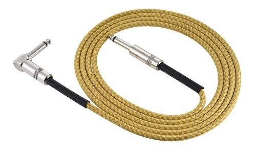 Guitarra eléctrico bajo cable instrumento musical cable 3m
