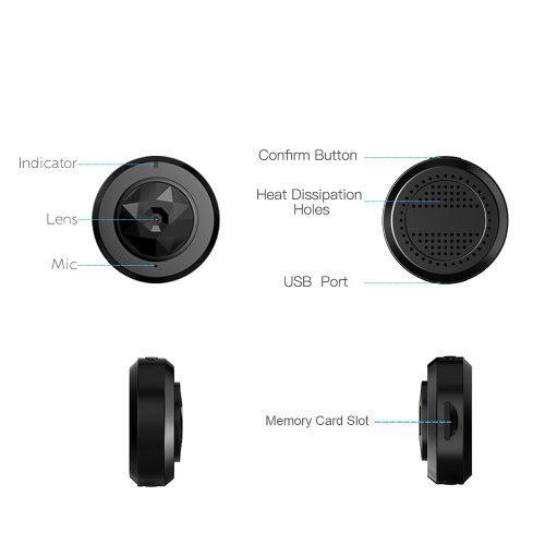 Hd 720p mini inteligente monitoreo cámara de la