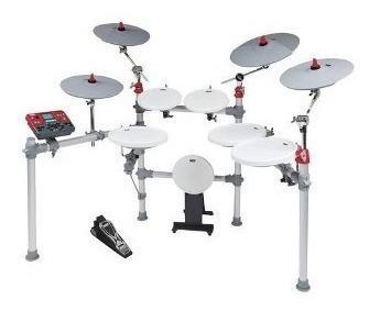 Kat percusión - kt3 6-piece set batería digital - plata