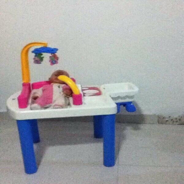 Mesa recreativa little mommy
