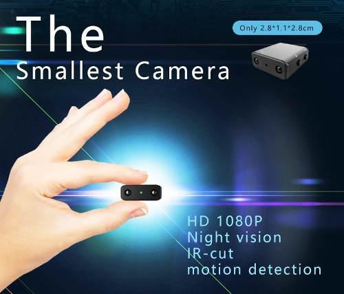 Mini cámara 1080p full hd videocámara sin batería
