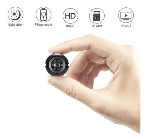 Mini cámara oculta 1080p videocámara con sensor de