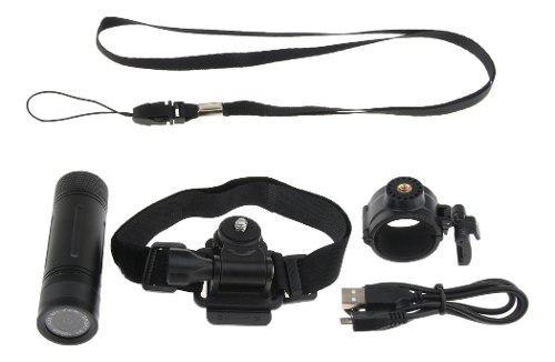 Mini hd 1080p impermeable sport dv cámara videocámara coc