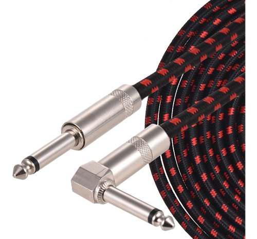 Muslady guitarra eléctrico bajo cable instrumento musical c