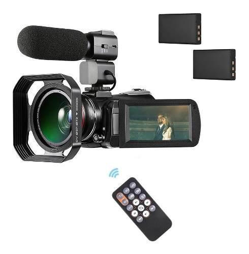 Ordro Ac3 4k Wifi Videocámara Digital Grabadora Dv
