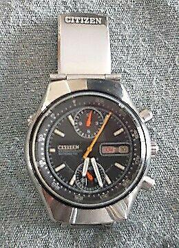 Reloj citizen de colección cronografo mecánico y