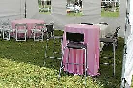 Renta de mobiliario para eventos, banquetes y taquizas
