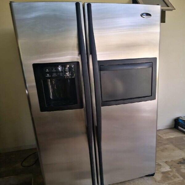 Refrigerador ge profile de 26 pies
