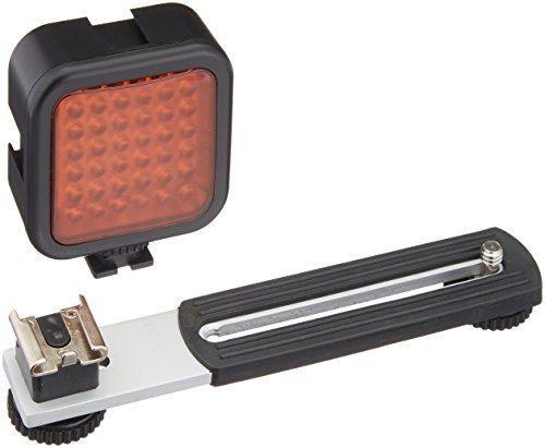 Sima recargable 36 led ir luz visión noche para videocámar