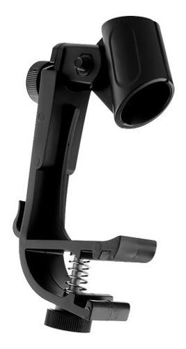 Soporte clamp para micrófono de tambor de batería