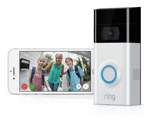 Timbre inalambrico con videocámara ring video timbre 2