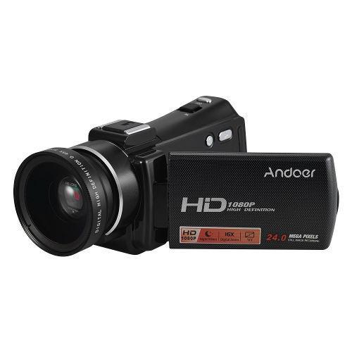 Videocámara digital andoer hdv-v7 plus portátil