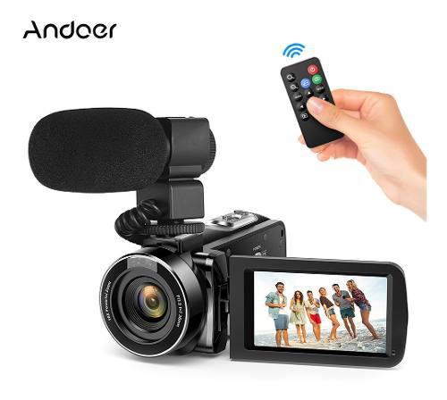 Videocámara digital de video andoer cámara de video fhd