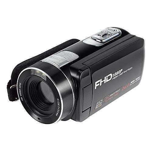 Videocámara dotca rv-c fhd 1080p 24.0mp 16x zoom -negro